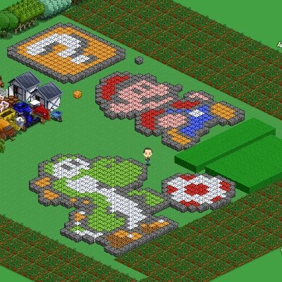 Farmville Gamification Mario