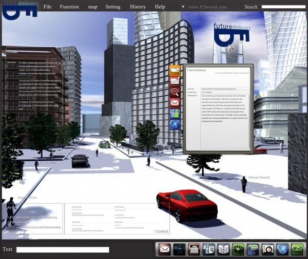 Serious Game Virtual World 1