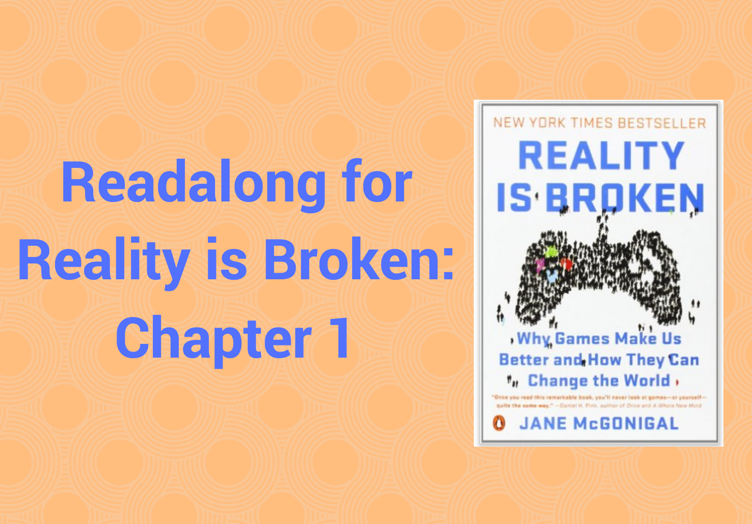 is reality broken In reality is broken , she reveals how these new alternate reality games are already improving the quality of our daily lives, fighting social problems such as .